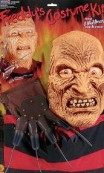Freddy Krueger Friday The 13th Blister Kit - Official Movie Merchandise