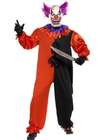 Cirque Sinister Scary Bo Bo the Clown Costume  33474