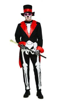 Day of the Dead Adult Fancy Dress V25 087