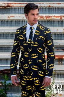 Opposuits Batman Official Fancy Dress Suit