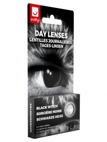 Black Witch Contact Lenses 1 Day
