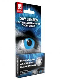 Blue Harlequin Lenses 1 Day