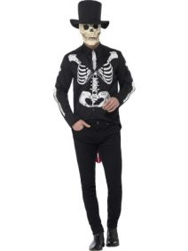 Day of the Dead Senor Skeleton Costume  44656
