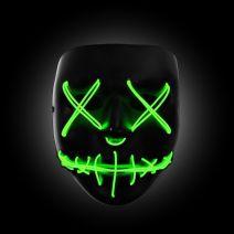 Purge Light Up Mask (GREEN LED) - WK PURGE MASK