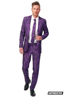 Opposuits Pimp Tiger Suitmeister Fancy Dress Suit