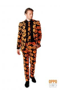 OppoSuits Pumpking Fancy Dress Suit
