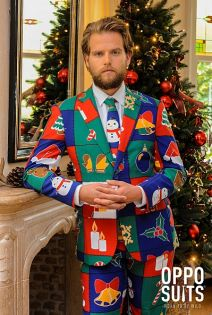 OppoSuits Quilty Pleasure Fancy Dress Suit
