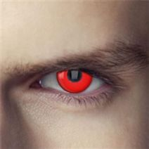 Devil Red One Wear Contact Lens