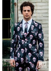 OppoSuits Skullaton Fancy Dress Suit