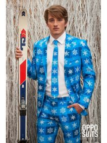 OppoSuits Snowflake Fancy Dress Suit