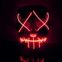 Purge Light Up Mask (RED LED) - WK PURGE MASK