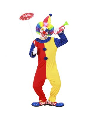 Clown Widmann Kids Fancy Dress Costume 02578