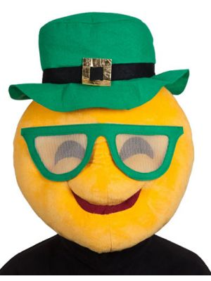 Plush Head St Patricks Cool Face1296