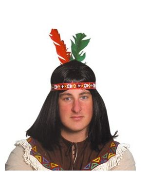 Indian Two Feather Headdress