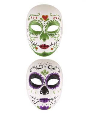Mask day of the Dead Adult 2 Asdt V36 682