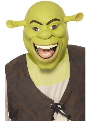 Shrek Latex Mask Official Licensed 37188