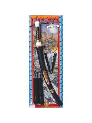 Ninja Set Generic Range Good Quality Rubies 38200