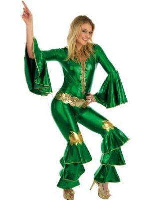 70's Dancing Queen Green Adult 2287
