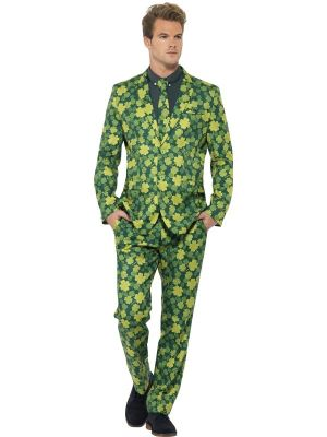 Stand Out Suit Smiffys Shamrock Design 43522