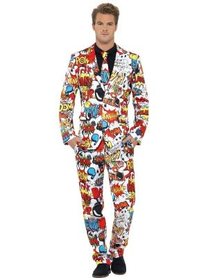 Stand Out Suit Smiffys Comic Strip 43526
