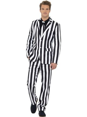 Stand Out Suit Smiffys Humbug Suit 43536