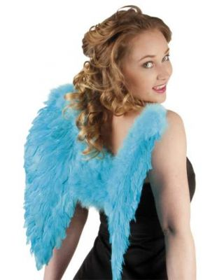 Angel Wings Turquoise Blue 50cmx50cm 52831
