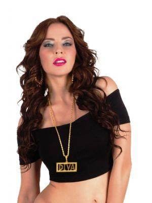 Necklace Diva Boland Fancy Dress 64307