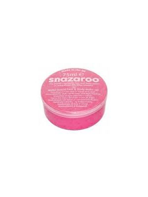 Pink Snazaroo 75ML Face Paint Big Tub Professional Quality