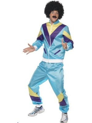 80'S Height Of Fashion Shell Suit Costume  39298