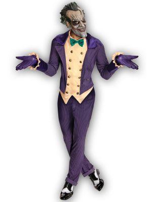 Joker Arkham City Fancy Dress Costume 880585