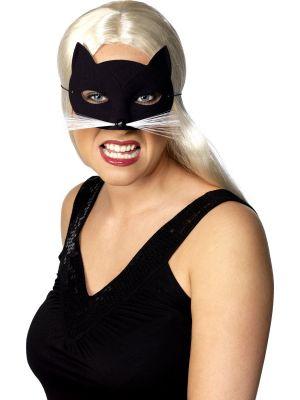 Cat Eyemask Black Smiffys 94338