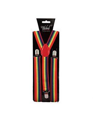 Adult Braces Rainbow Pride AC-9377
