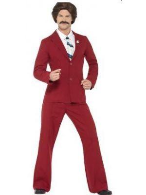 Anchorman Ron Burgundy Costume  20501