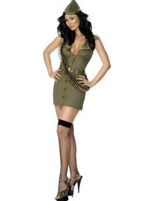 Army Girl Fever Costume  30758