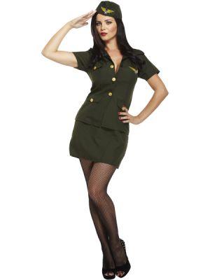 Army Lady Costume  U36 352