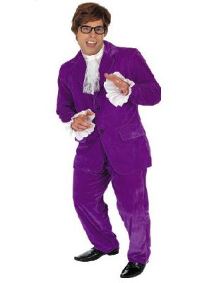 60'S Gigolo Austin Powers Costume 2767