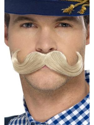 Authentic Bavarian Oktoberfest Moustache 45401