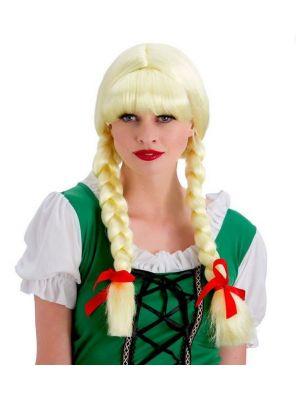 Bavarian Beer Girl Wig EW-8089