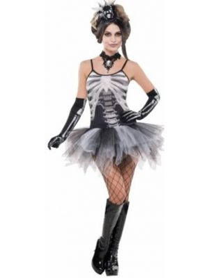 Black and Bone Petticoat Dress 996975
