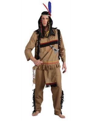 Brave Indian Warrior Costume  EM-3177