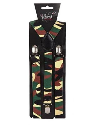 Camouflage Suspenders AC-9365