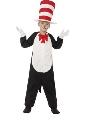 Dr Seuss Cat in the Hat Costume  27538