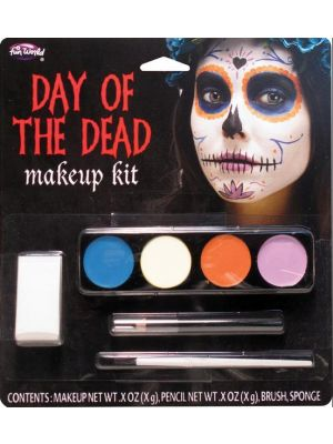 Day of the Dead Makeup Kit Ghost Girl FW-5618-FG