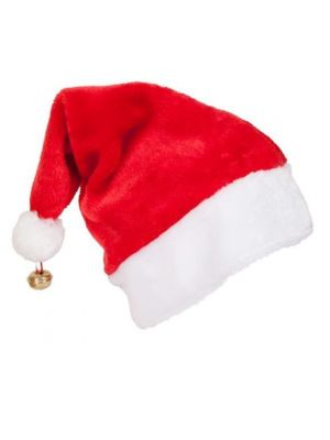 Deluxe Santa Hat with Bell XM-4610