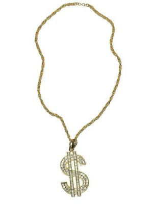 Dollar Sign Necklace 56673