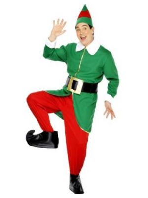 Elf Costume  Green and Red 30741