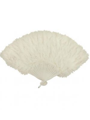 Feather Fan White U30 516