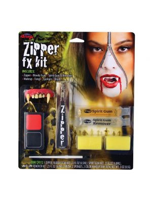 FunWorld Zipper FX Kit Vampire FW-5609-V