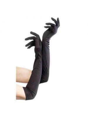 Gloves Black Long