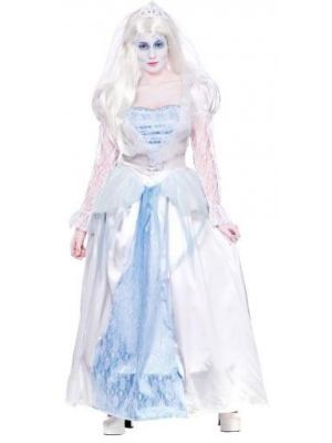 Gorgeous Ghost Bride Costume  HF-5114